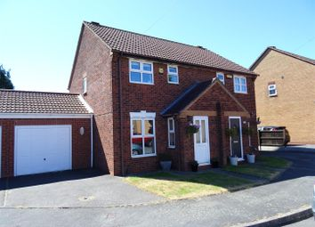 Thumbnail 3 bed semi-detached house for sale in Chapel Close, Ravenstone, Leicestershire