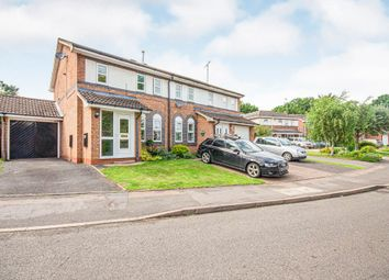 Thumbnail 3 bed semi-detached house for sale in Grendon Drive, Rugby