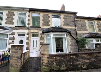 Thumbnail 3 bed terraced house for sale in Hillview, Cwmfelinfach, Newport