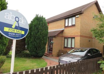 Thumbnail 2 bed semi-detached house for sale in Leander Crescent, Motherwell