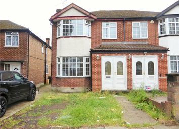 Thumbnail 3 bed end terrace house to rent in Bilton Road, Perivale, Greenford, Greater London