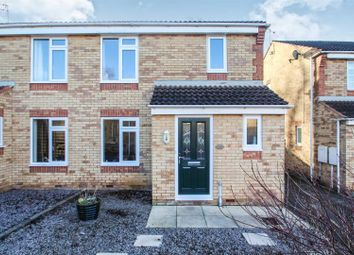 Thumbnail 3 bed semi-detached house for sale in Meadow View, Rearsby, Leicester