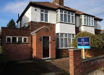 Thumbnail 3 bed semi-detached house for sale in York Road, Haxby, York