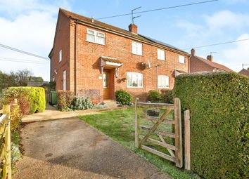 Thumbnail 3 bed semi-detached house for sale in Hillside, East Barsham, Fakenham