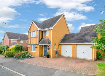 Thumbnail 3 bed detached house for sale in Moorhouse Way, Kettering