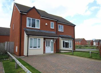 Thumbnail 3 bed semi-detached house to rent in Bro Brwynog, Treuddyn, Flintshire