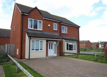 Thumbnail 3 bed semi-detached house to rent in Bro Brwynog, Treuddyn, Flintshire