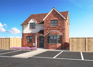 Thumbnail 4 bed detached house for sale in The Swan, Swan Close, Measham
