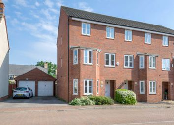 Thumbnail 4 bed end terrace house for sale in Lockhart Avenue, Oxley Park, Milton Keynes
