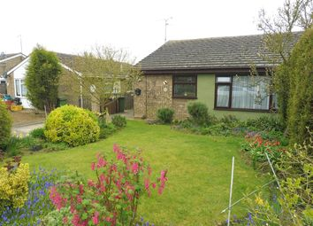 Thumbnail 2 bed semi-detached bungalow for sale in Constable Close, Whittlesey, Peterborough