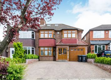 Thumbnail 5 bedroom semi-detached house for sale in Silverdale, Enfield