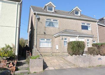 Thumbnail 5 bedroom semi-detached house for sale in Tydraw Road, Bonymaen, Swansea