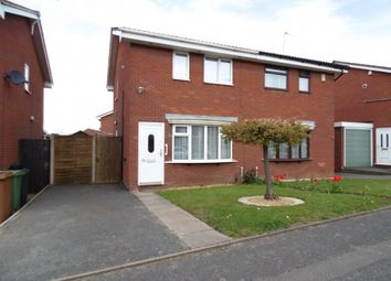 Thumbnail 2 bed semi-detached house to rent in Barns Lane, Rushall, Walsall