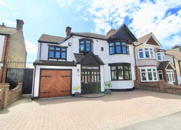 Thumbnail 4 bed semi-detached house for sale in Chelmsford Gardens, Ilford