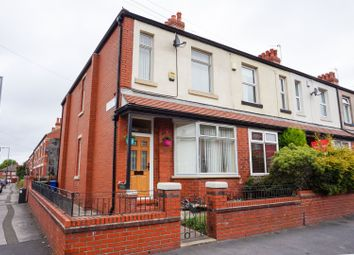 Thumbnail 3 bed end terrace house for sale in Longford Road, Stockport