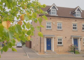 Thumbnail 3 bed semi-detached house to rent in Burdock Close, Wymondham