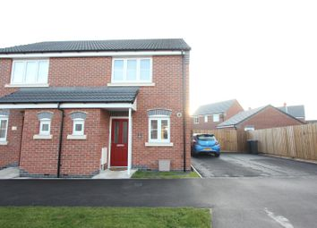 Thumbnail 2 bed semi-detached house for sale in Jovian Drive, Hinckley