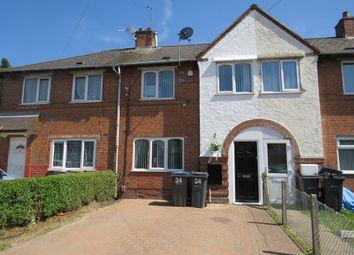 3 bed terraced house for sale in Sunningdale Road, Tyseley, Birmingham B11
