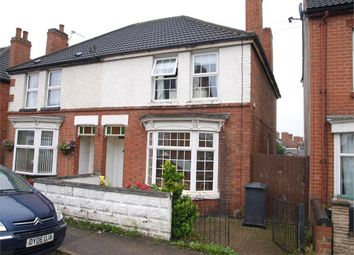 Thumbnail 3 bed semi-detached house for sale in Queen Street, Church Gresley, Swadlincote, Derbyshire