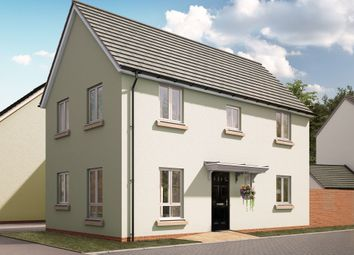 "Thumbnail 3 bed semi-detached house for sale in ""The Iris"" at Swallow Field, Roundswell, Barnstaple"