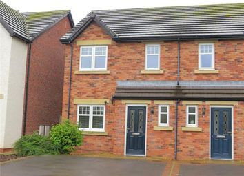 Thumbnail 3 bed semi-detached house for sale in Leander Close, Whitehaven, Cumbria