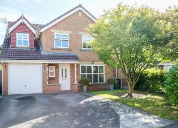 Thumbnail 5 bed detached house for sale in California Close, Warrington, Cheshire