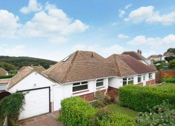 Thumbnail 4 bed detached bungalow for sale in High Ridge, Hythe