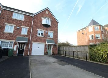 Thumbnail 4 bed town house for sale in Castle Lodge Gardens, Rothwell, Leeds