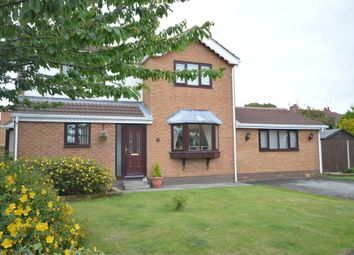 Thumbnail 4 bed detached house for sale in Lauriston Close, Blackpool