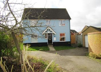 Thumbnail 3 bed detached house for sale in Maximus Drive, Colchester