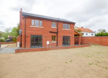 Thumbnail 4 bed detached house for sale in Moulton St. Mary, Norwich, Norfolk