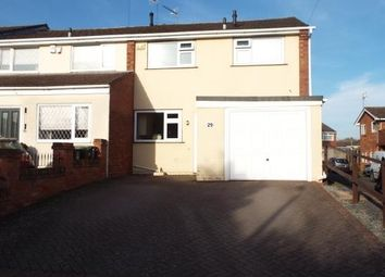 Thumbnail 3 bed end terrace house for sale in Baynham Drive, Worcester, Worcestershire