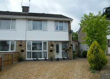 Thumbnail 3 bedroom semi-detached house for sale in St. Guthlac Close, Swaffham