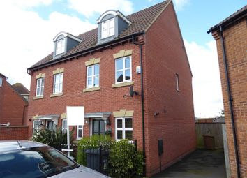 Thumbnail 3 bed property for sale in Evergreen Drive, Hampton Hargate, Peterborough