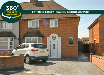 Thumbnail 3 bed semi-detached house for sale in Aylestone Lane, Wigston, Leicester