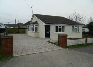 Thumbnail 3 bed bungalow to rent in Oxford Road, Canvey Island