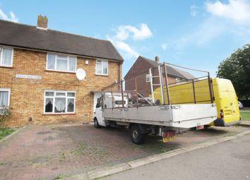 Thumbnail 3 bed semi-detached house for sale in Castle Croft Road, Luton, Bedfordshire