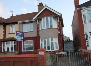 Thumbnail 4 bed semi-detached house for sale in East Parade, Rhyl