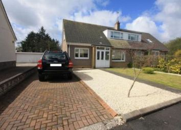 Thumbnail 3 bed semi-detached house to rent in Powburn Crescent, Uddingston, Glasgow