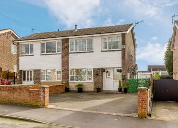 Thumbnail 3 bed semi-detached house for sale in Soames Crescent, Stoke-On-Trent
