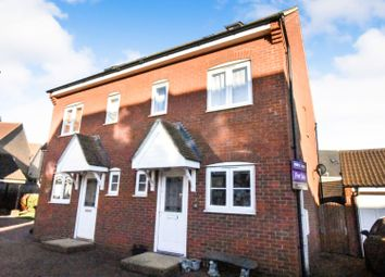 Thumbnail 3 bed semi-detached house for sale in Langlands Road, Goldington, Bedford