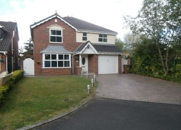 Thumbnail 3 bed detached house for sale in Smallbridge Close, Worsley, Manchester