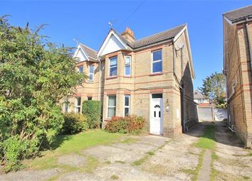 Thumbnail 3 bedroom semi-detached house for sale in Belmont Road, Parkstone, Poole
