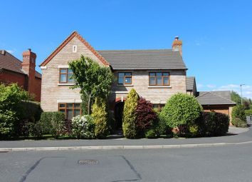 Thumbnail 4 bed detached house for sale in Old School Drive, Longton, Preston