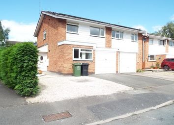 Thumbnail 3 bed semi-detached house to rent in Donnington Close, Redditch