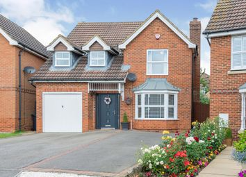 Thumbnail 4 bed detached house for sale in Woodpecker Close, Brackley