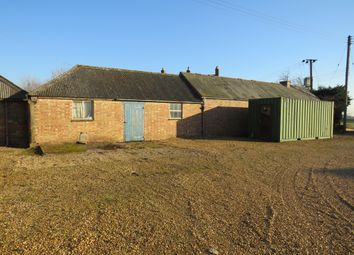 Thumbnail Land for sale in March Road, Coates, Peterborough