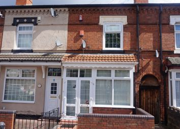 Thumbnail 2 bed terraced house for sale in Maidstone Road, Aston, Birmingham