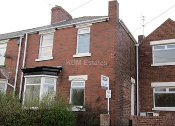 Thumbnail 2 bedroom flat to rent in Station Avenue, Brandon, Durham