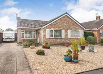 Thumbnail 3 bed detached bungalow for sale in Wroxham Close, North Hykeham